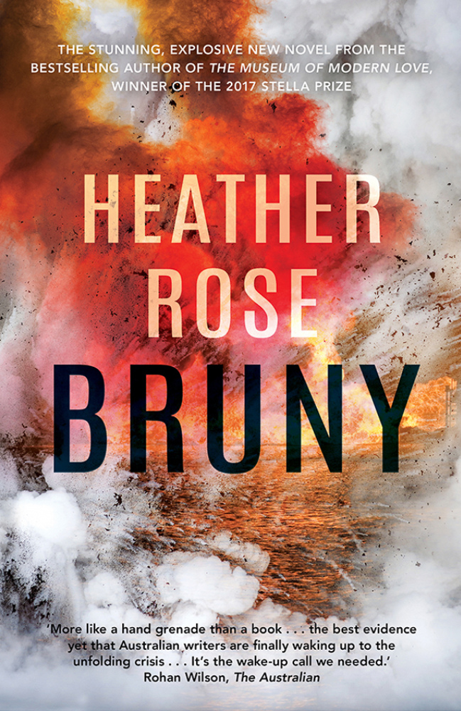 The cover of the book Bruny by Heather Rose